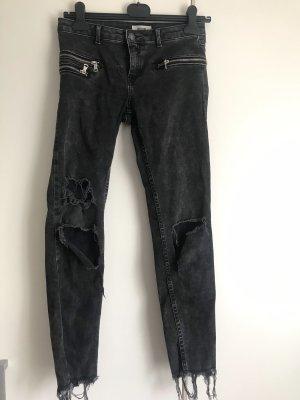Pimkie Jeans da motociclista nero