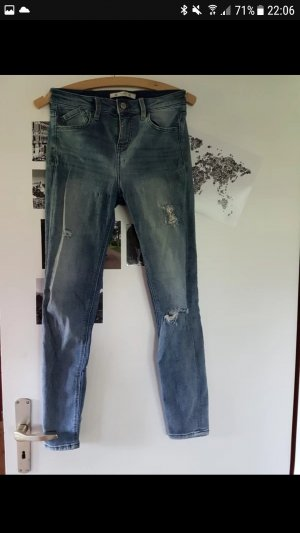 Jeans destroyed hellblau