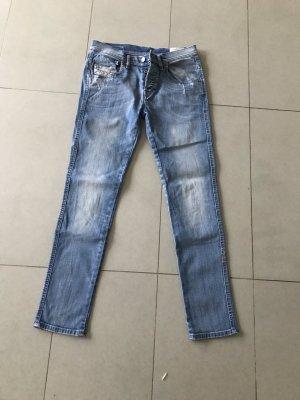 Diesel Skinny Jeans blue cotton