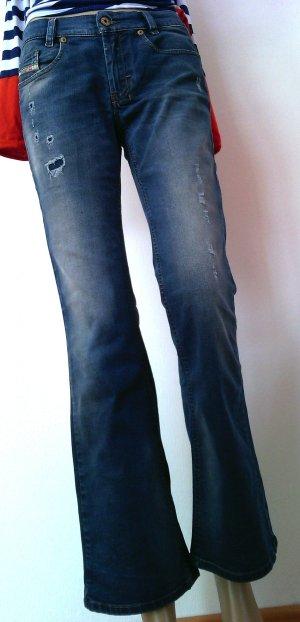 Jeans Diesel Industrie Gr 29/30 Low Waist Jeans