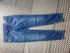 Diesel Pantalone cinque tasche blu acciaio Cotone