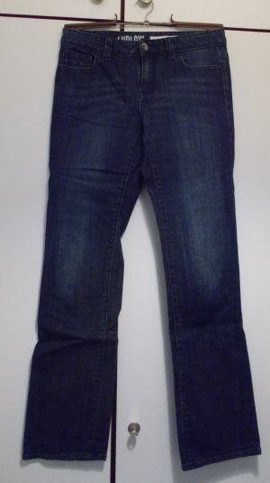 DKNY Jeans a gamba dritta blu scuro