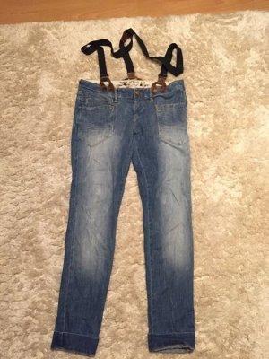 """Jeans """"Domenique"""" mit Hosenträgern von Mavi"""