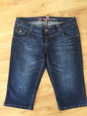 Jeans Dreiviertelhose von edc