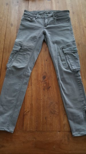 Jeans drykorn mit aufgesetzten Außentaschen