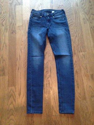 Jeans dunkelblau Gr. 34