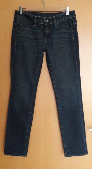 Jeans dunkelblau Midge Mid Straight