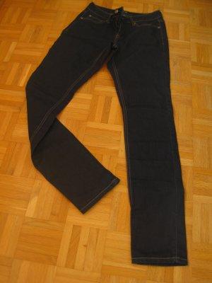 Zero Slim jeans donkerblauw Katoen
