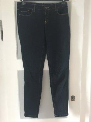 f947ab1996c Massimo Dutti Skinny Jeans dark blue mixture fibre