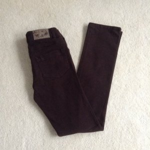Jeans dunkelbraun / Hr. 34 XS / Tally Weijl