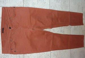 Jeans dunkelorange/rost