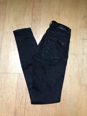 Tommy Jeans Jeans taille haute noir