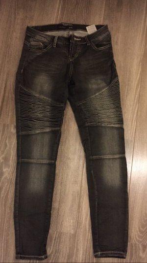 Takko Low Rise jeans antraciet
