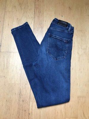 Tommy Jeans Jeans taille haute bleu