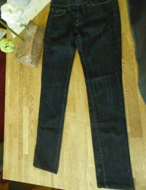 7 For All Mankind Jeans coupe-droite bleu foncé