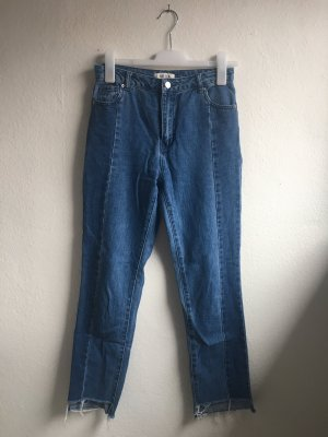 Edited Tube jeans blauw