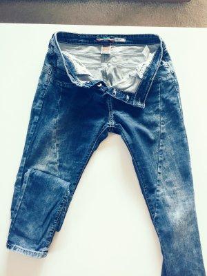 Please Jeans boyfriend blu-blu scuro