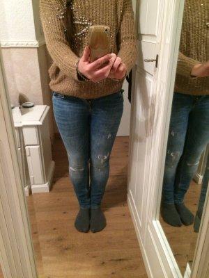 Zara Jeans bleuet
