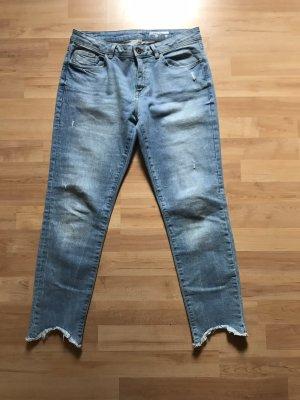Edc Esprit Jeans a 7/8 azzurro-azzurro