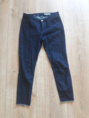 Esprit Drainpipe Trousers dark blue