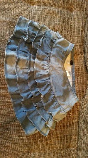 Jeans Faltenrock guter Zustand