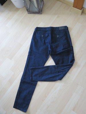 edc Jeans taille basse bleu