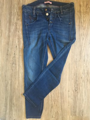 Fornarina 7/8-jeans donkerblauw