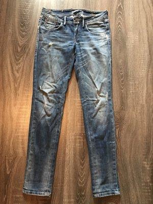Jeans Fornarina Vivienne, blau, W27, used Optik