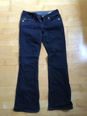 G-Star Raw Boot Cut spijkerbroek donkerblauw