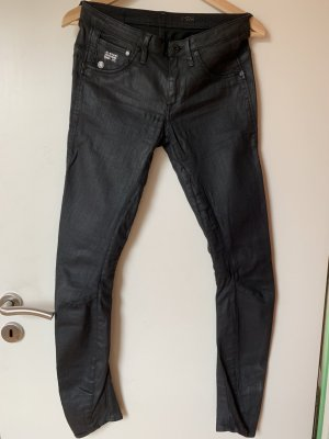 Jeans G-Star Schwarz Coated Skinny