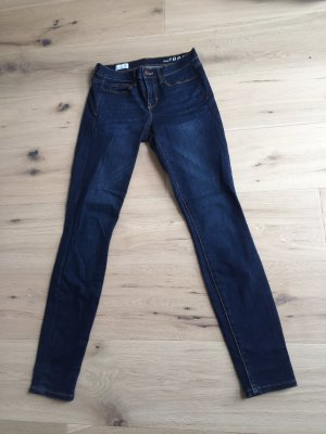 Gap Low Rise Jeans dark blue-blue