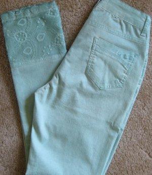 Jeans gebatikte Sommerhose Spitze NEU Gr. 38