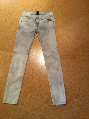 Jeans, gemustert