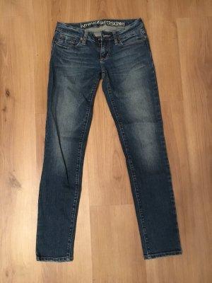Slim jeans veelkleurig