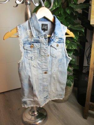 Jeans-Gilet ärmellos S/M