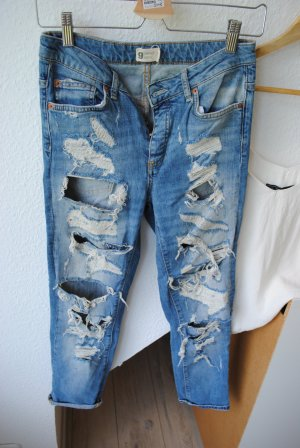 Gina Tricot Jeans a sigaretta blu pallido