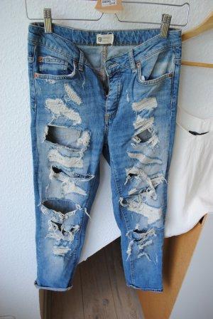 Gina Tricot Tube jeans lichtblauw