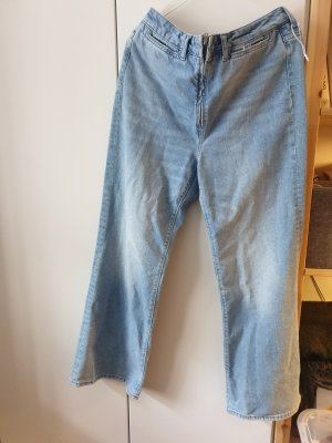 H&M Denim Flares multicolored mixture fibre