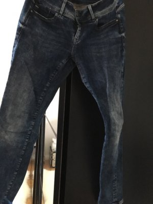 G-Star Raw Peg Top Trousers blue cotton