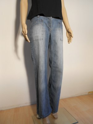 Personal Affairs Jeans large bleu