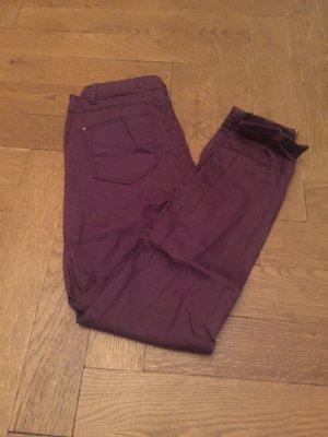 Jeans gr 36 in rot Pimkie beschichtete Baumwolle