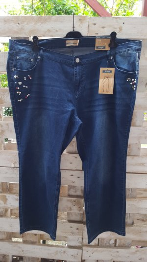 Janina Stretch Jeans dark blue