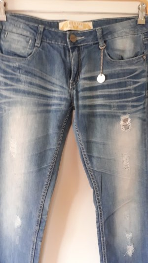 Redial Low Rise Jeans blue