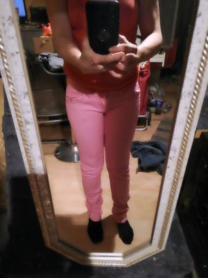 Reals Low Rise jeans magenta