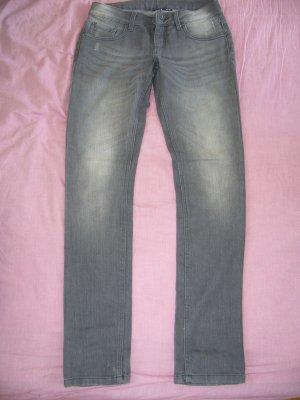 Jeans grau Esmara S 36