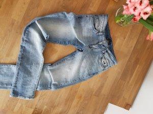 Seven7 Jeans met rechte pijpen azuur