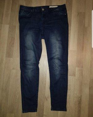 Pantalone a sigaretta blu