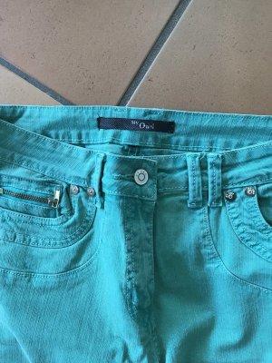 My Own Jeans taille basse vert-vert clair