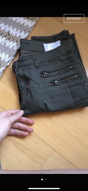 Pantalone a vita bassa cachi