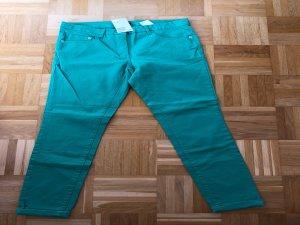 Jeans, grün, Gr. 38, H&M